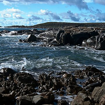 Black Rocks at Corny Point  by FredSmith