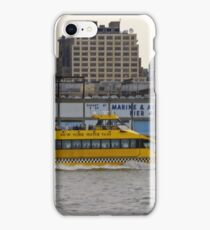 Water Taxi, New York, USA iPhone Case/Skin