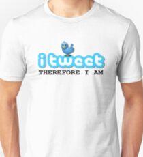 PERSONALISED Twitter Unisex T-Shirt