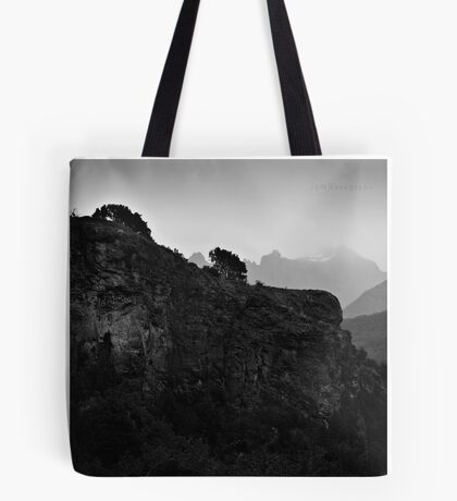 The Wall and The Mist Tote Bag