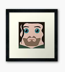 Aragorn Square Framed Print