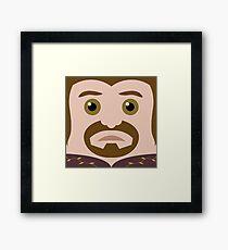 Boromir Square Framed Print