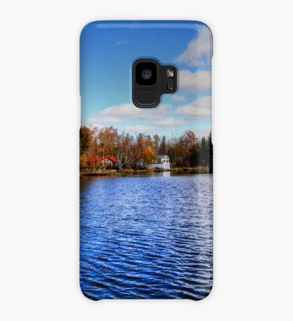 Red Rock Lake Case/Skin for Samsung Galaxy