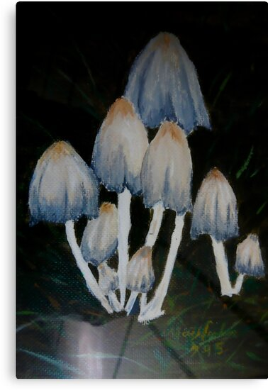 S'hrooms in Oil by MaeBelle
