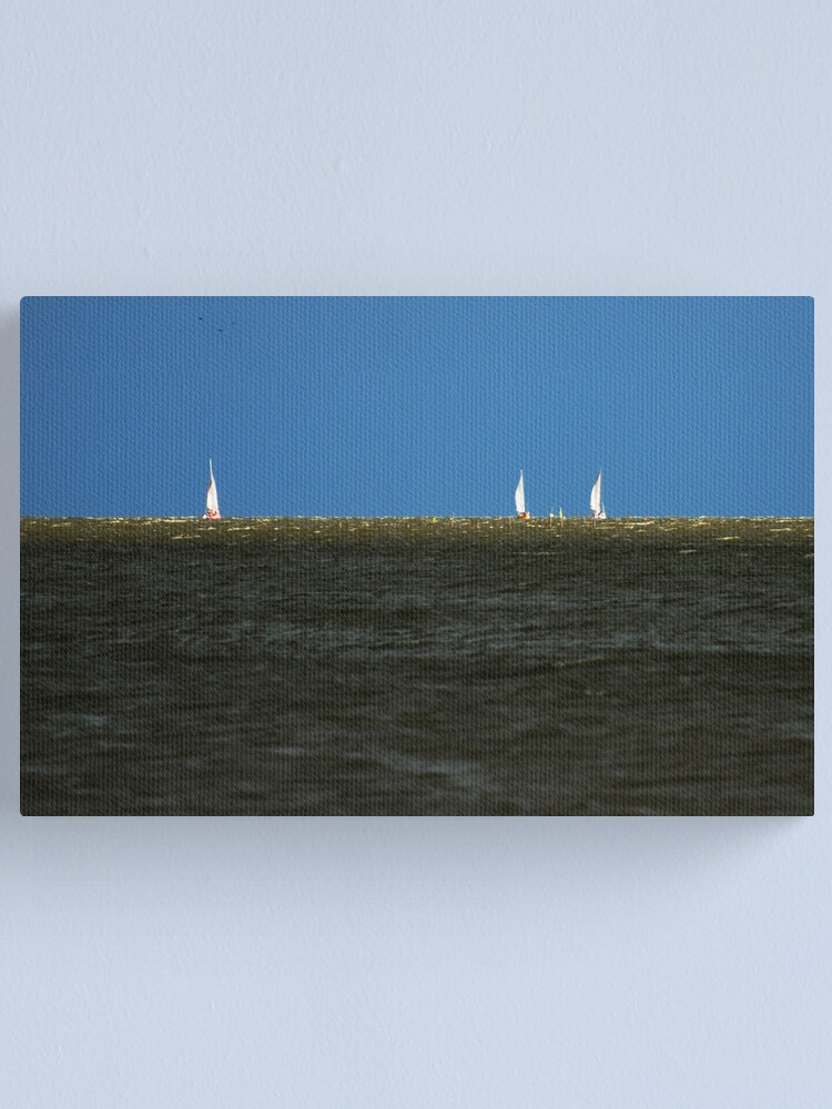 Alternate view of Yacht racing Canvas Print