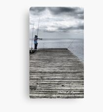 The Fisherman Canvas Print