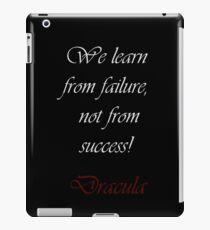 We Learn From Failure iPad-Hülle & Skin