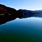 Walchensee at Dusk 02. by Daidalos
