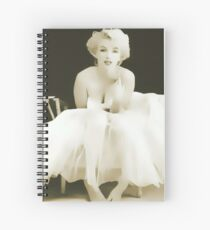 Sweet, Sweet Marilyn Spiral Notebook