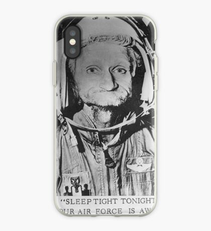 Sleep Tight Tonight Your Air Force is Awake iPhone Case