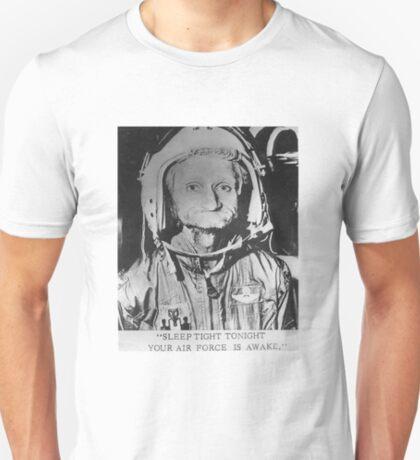 Sleep Tight Tonight Your Air Force is Awake T-Shirt