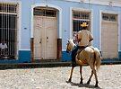 Guajiro (Cuban Cowboy), Trinidad, Cuba by David Carton