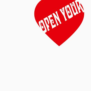 Open your Heart Now! by federicografia