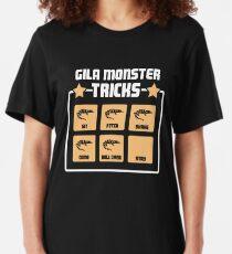 Pet Gila Monster / Reptileidechse Herpetologist Slim Fit T-Shirt