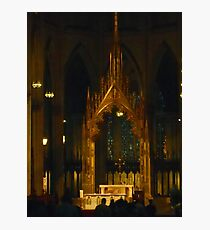 Inside St Patrick's Cathedral Photographic Print
