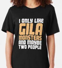 Pet Gila Monster / Lustiges Eidechsen-Reptil Slim Fit T-Shirt