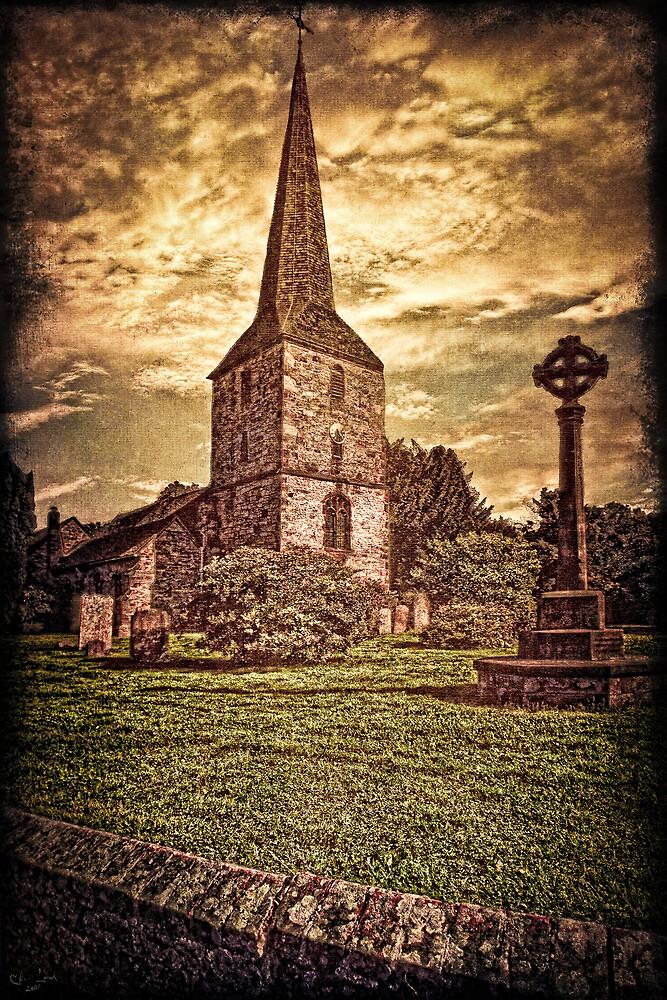 An English Village Church by Chris Lord