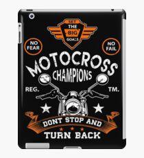 Motocross  Shirt Gift iPad-Hülle & Klebefolie