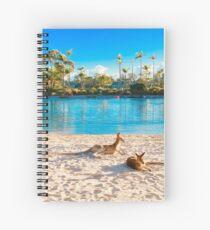 Kate Branch Creative- Kangaroo Spiral Notebook