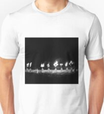 I find a map and draw a straight line  Unisex T-Shirt