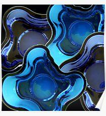 Modern Art Glass Finland Poster