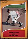 471 - John Patterson by Foob's Baseball Cards