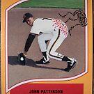 471 - John Patterson by Foob's Baseball Cards