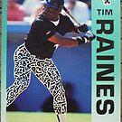 472 - Tim Raines by Foob's Baseball Cards