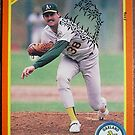473 - Dave Otto by Foob's Baseball Cards