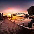 «Amanecer en Sydney» de ampphotography