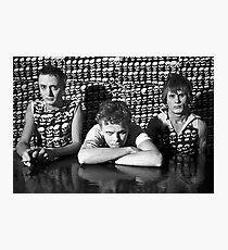 Tom Ellard with Severed Heads at Art Unit 1983 Photographic Print