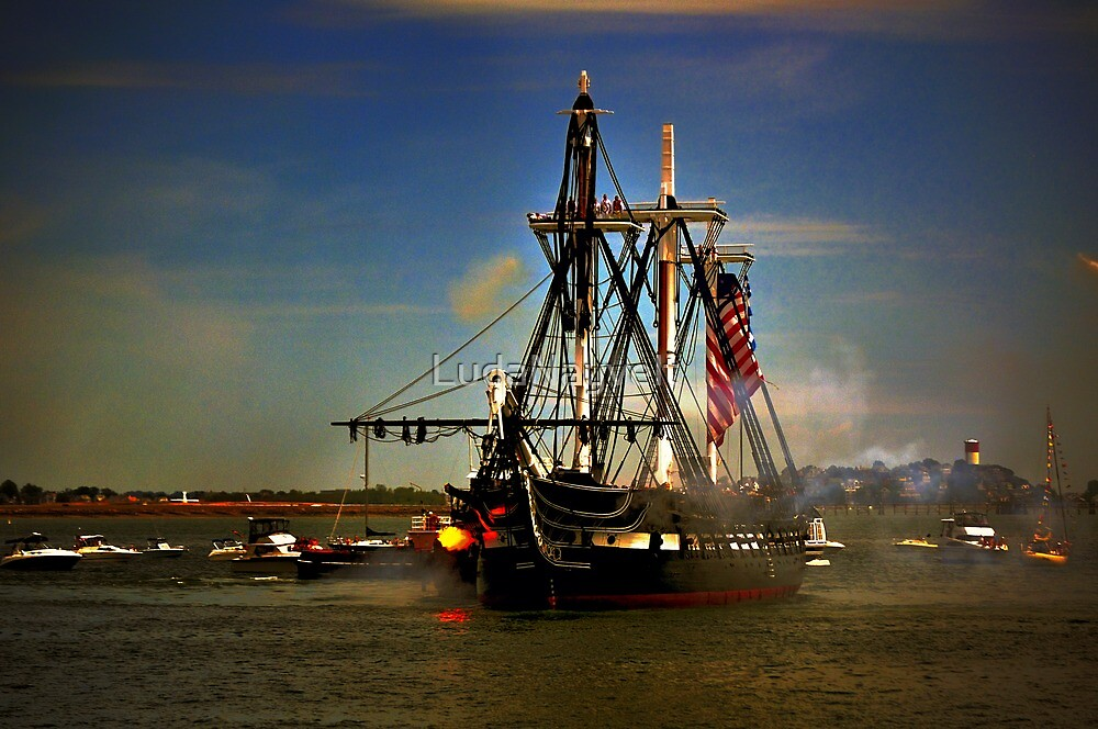 Independence Day Celebration with USS Constitution  by LudaNayvelt
