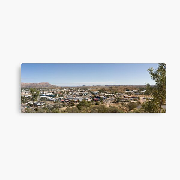 Anzac Hill Lookout Canvas Print