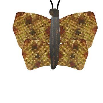 Jewelled Butterfly by trudywinn