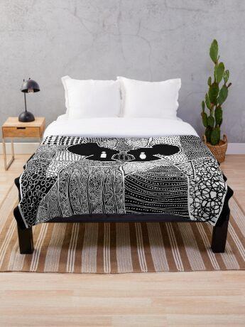 Myself and I Throw Blanket