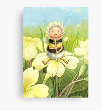 'Beebod' - cute bee-pixie Canvas Print
