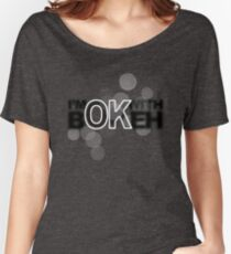 I'm ok with Bokeh! Loose Fit T-Shirt