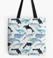 Bolsa de tela Ballenas, Orcas y Narwhals