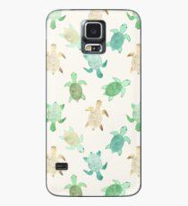 Funda/vinilo para Samsung Galaxy Dorado Jade & Mint Turtles