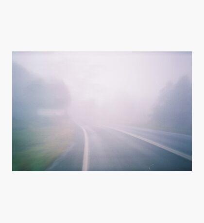 Misty Mountaintop. Photographic Print