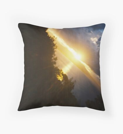 Symphony. Throw Pillow