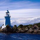 Lighthouse at Table Head, Macquarie Harbour by Elana Bailey