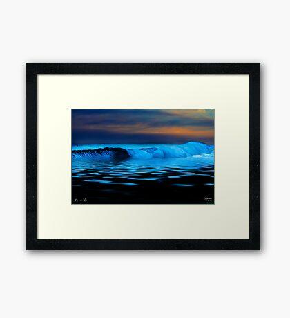 Esperance Wave Framed Print