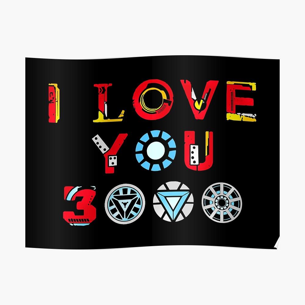 I Love You 3000 v3 Poster