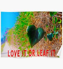 Love It Or Leaf It Poster