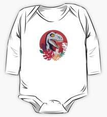 Tropic Raptor Long Sleeve Baby One-Piece