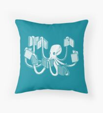 Armed With Knowledge Throw Pillow