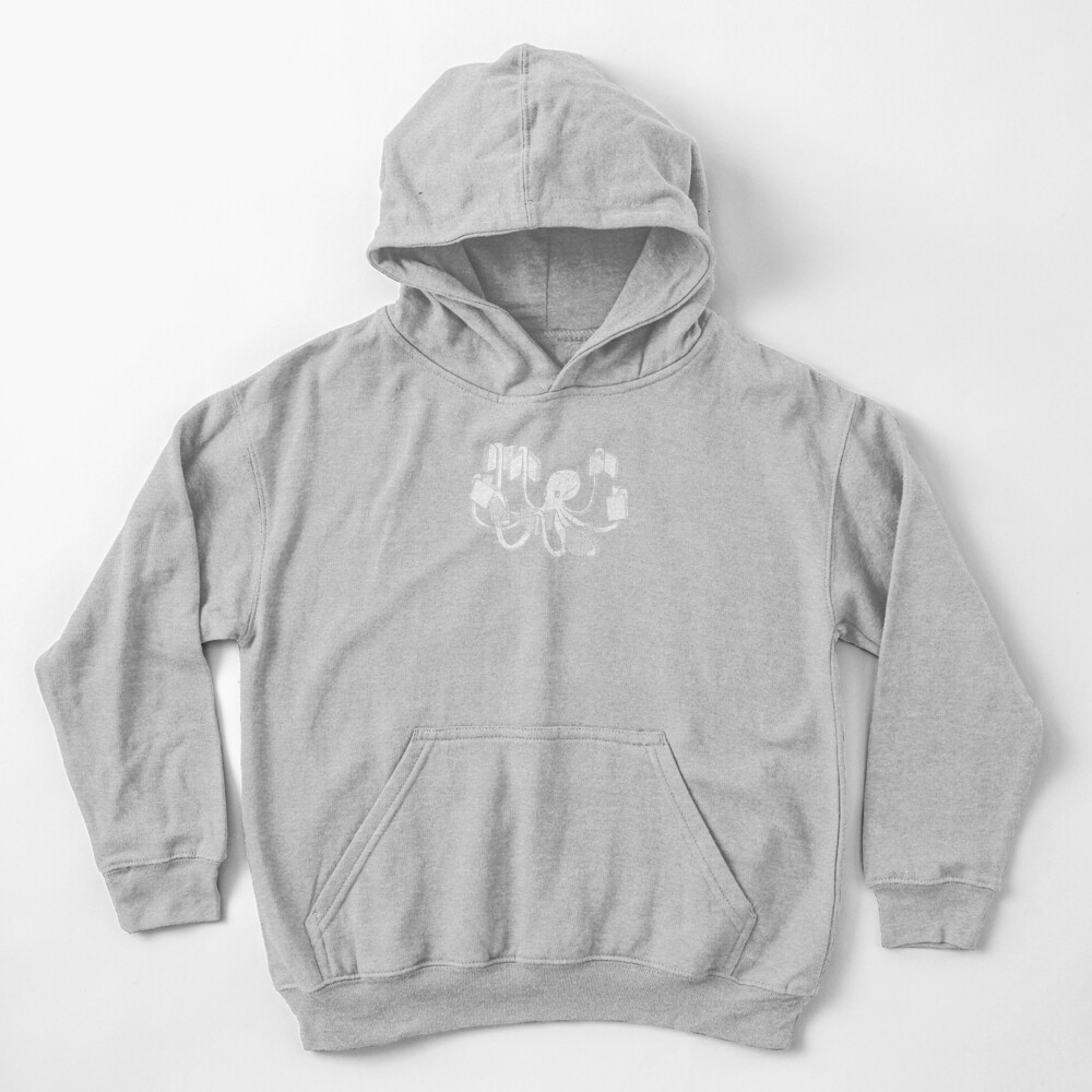 Armed With Knowledge Kids Pullover Hoodie