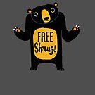 Free Shrugs by DinoMike