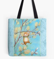 Catkin - cute pussy-willow-pixie Tote Bag